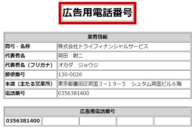 ぽちスマくんの広告用電話番号